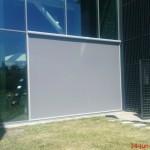 Lumenguard Zipscreen hangt bij Corpus in Oegstgeest