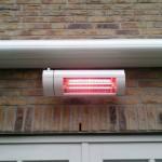2Kw heater met afstandsbediening